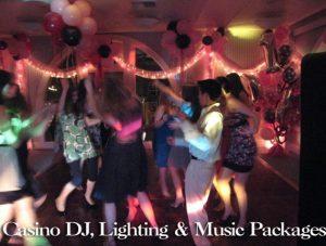 CASINO DJ LIGHTING AND MUSIC